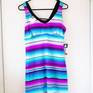 ZeroXposur Women's Code Swim Dress